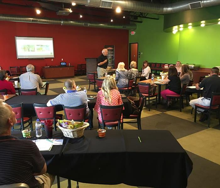 Community SERVPRO of Springfield/Greene County Host CE Class