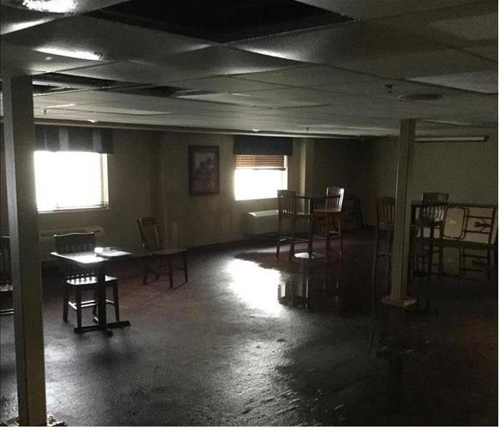 Commercial Commercial Water Damage in Springfield Hotel